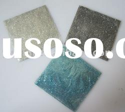 Acrylic glitter powder colored for crafts