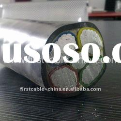 Al Conductor XLPE Insulated Aluminum Wire Nonarmoured PVC Sheathed Power Cable AL/XLPE/STA/PVC