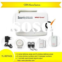 Chinese cheapest GSM SMS security products and Alarm System with Voice and Intercom