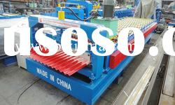 Corrugated profile steel roof panel roll forming machine XF19-76-1057