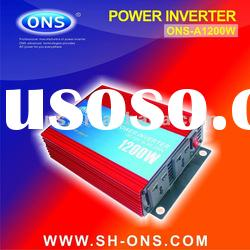 DC/AC power inverter 1200W for car / home / outdoor / solar / wind situation