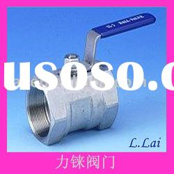 DIN 1pc Steel Ball Valve With Handle