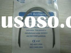 Dental Orthodontic arch wire