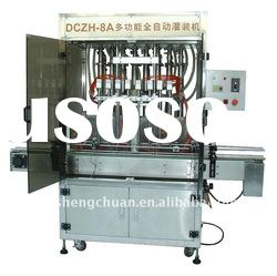 Eight-head automatic linear piston yogurt filling machine