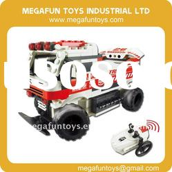 Electric RC Car, 147pcs, Infrared RC Building Block MF001730