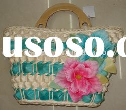 Fashion Straw bag;weave bag;lady handbag(HB-6180)