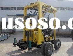 HOT Sell! HF-3 trailer type boring rigs, plants of exploraty drilling