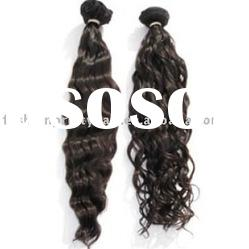 High quality deep wave/curly hair weft
