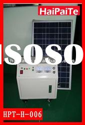 Hot! HaiPaiTe portable solar power system with 180W solar panel