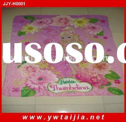 Hot Sale Beautiful and Printed Baby Blanket High Quality