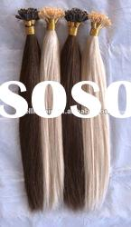 Hot sale U tip/nail human remy hair extensions