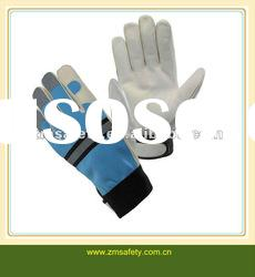 Industrial leather hand gloves JRM28