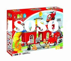 Intelligence block / bricks toy / Fire fighter toy