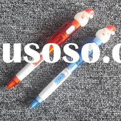 LED ball pen with light
