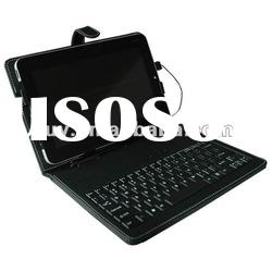 Leather Case With Keyboard for 10 Inch Tablet PC