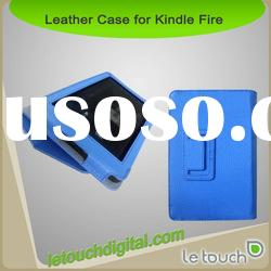 Multi Color PU Leather Folio Case for Kindle Fire