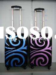 PAINTING ABS TROLLEY LUGGAGE CASE