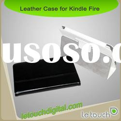 Protective PU Leather Case for Kindle Fire