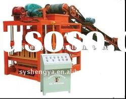QTJ4-26C hollow and solid concrete block making machine