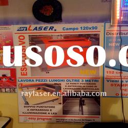 Rotary laser machine RL6090/9012HS, laser engraving and cutting machine CO2