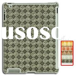 Rural Pattern Hard Plastic Case for iPad 2 (Compatible With Smart Cover)