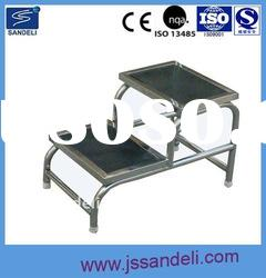 SDL-A0815-2 Hospital two-step stainless step stool