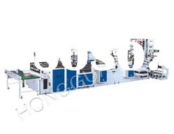 SD-800ZD full automatic plastic hand bag making machine
