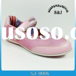 S&J new arrival fashion dress shoes for girl