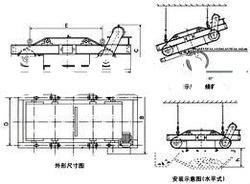 Series RCDD auto-cleaning dry magnetic separator iron sand