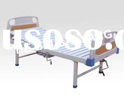 Single Function Manual Hospital Bed With Chamber pot and ABS bed head