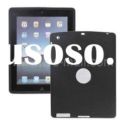 Skidproof Fingerprint Design Soft Silicone Case Cover for Apple iPad 2