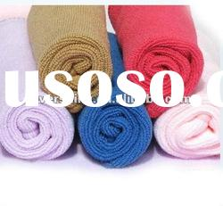 Solid Color Dyed Towels/100% cotton bath towel--solid color towels with border