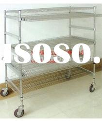 Stainless Steel used wire shelving