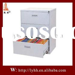 Top sell steel filing storage cabinet with 3 drawer