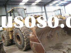 WHEEL LOADER OF THE CAT 966F USED TYPE