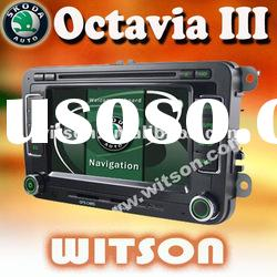 WITSON car dvd navigation for skoda octavia ii
