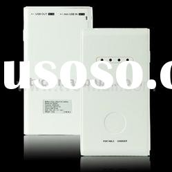 White 4000mAh Power Bank External Battery Charger for iPhone 4&iPad& iPad 2