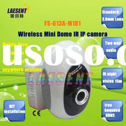 WiFi IR Distance 15m Dual Audio Wireless IP Camera Security Surveillance Network Cam FS-613A-M181