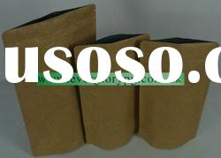 aluminum foil brown kraft paper bags food grade