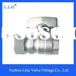 ball valve brass nickel