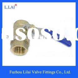 ball valve brass nickel plate
