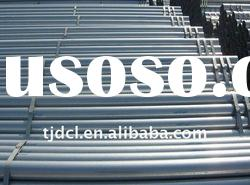 bs1387 erw hot rolled galvanized steel pipe