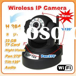 cameras internet Wireless H.264 Infrared Pan-Tilt Internet IP Camera outdoor security camera