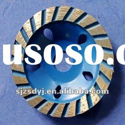 continuous rim diamond small concrete grinding cup wheels high quality