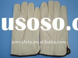 cow grain leather industrial safety gloves ZM38-H