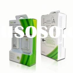 for XBOX 360 battery charger with battery