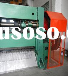 heavy type expanded mesh making machine