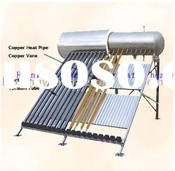 high performance heat pipe pressured solar water heater heat pipe pressured solar water heater