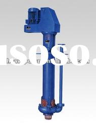low noise hydraulic vertical slurry pump