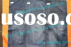 new hot sale pure 100 cotton denim fabric jeans fashion in 2012